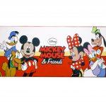 Alfombra Infantil con Diseño de Mickey Mouse y sus Amigos