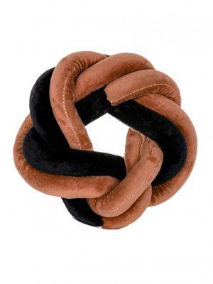 Almohada con Nudo Bicolor
