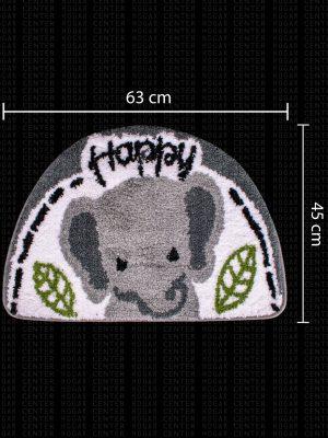 Tapete con Diseño de Elefante