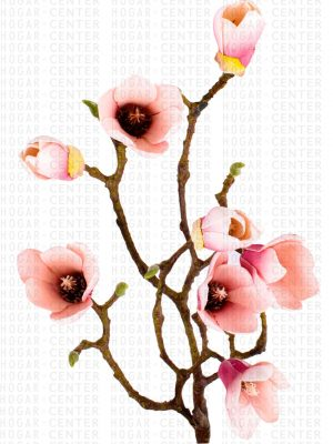 Flor Artificial con Ramas – Magnolia