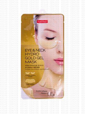 Purederm – Eyer Neck Hydro Gold Gel Mask
