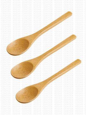 Kit de Cucharitas de Bambú