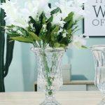 Florero de Cristal – Tallado
