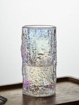 Vaso de Cristal Semi Holográfico