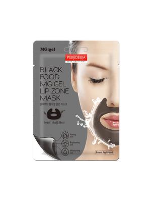 Black Food MG: GEL Lip Zone Mask – Purederm